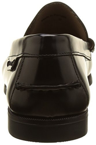 Sebago Damen Plaza Ii Slipper Schwarz (Black Leather)