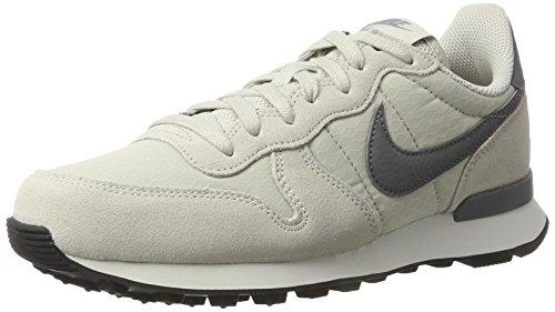 Nike Damen Wmns Internationalist Low-Top Beige (Lt Bone/cool Grey/summit White)