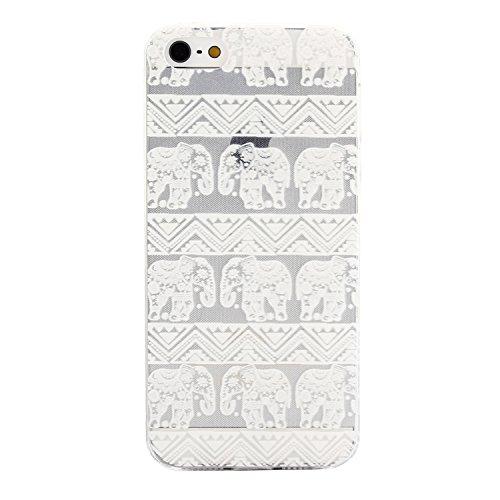 MOONCASE pour iPhone 5G / 5S Case Housse Silicone Gel TPU Case Coque Étui Cover X02 X12 #1207