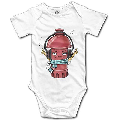laura fleming Kunst Feuerwehrmann Unisexbaby Onesies Nette Neugeborene Kleidungs lustiges Baby Bequeme Baby Kleidung -