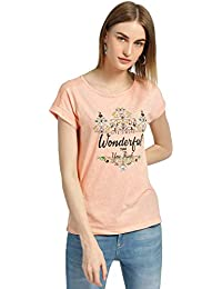 DJ & C by FBB Round Neck Printed T-Shirt