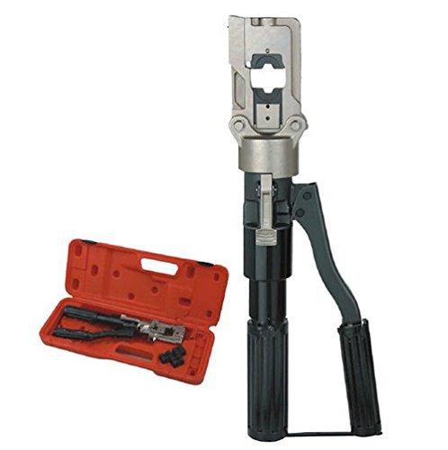 Gowe Outil de sertissage hydraulique BEKU type porte-outil à sertir 150 mm Portée 10 pour AL/Cu conducteur