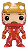 Funko Pop! FK7225, Figurine d'Iron Man sans Masque en Vinyle, édition limitée, 10 cm tiré du Film Captain America 3 Civil War de Marvel