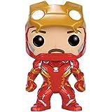 Funko POP. fk72253.94-inch Marvel Capitán América 3Guerra Civil Iron Man desenmascarada vinilo figura de edición limitada