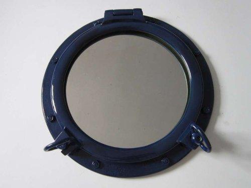 HND Marineblau Bullauge Spiegel 50,8cm