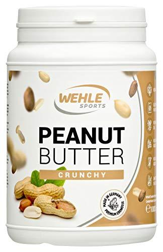Erdnussbutter Natürliche Peanutbutter Ohne Zusätze. Erdnussmus Ohne Salz, Zucker, Palmfett – Wehle Sports