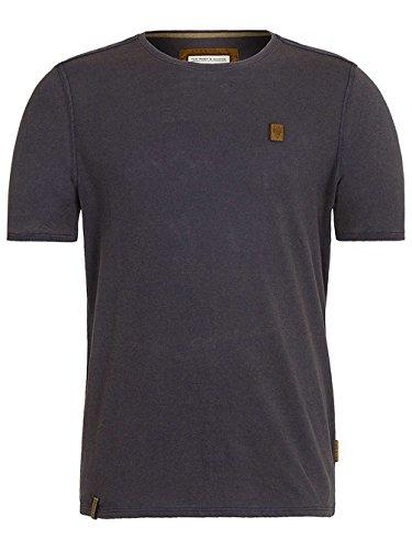 Naketano Male T-Shirt Halim Trabando heritage dark blue