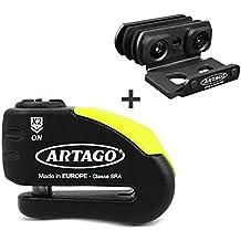 Antirrobo disco con alarma BMW F 800 GT 13-17 Artago 30x + Soporte K400