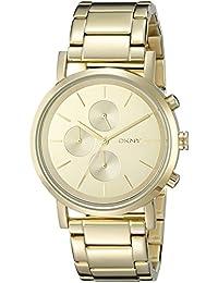 DKNY NY2161 Lexington reloj de oro de la mujer