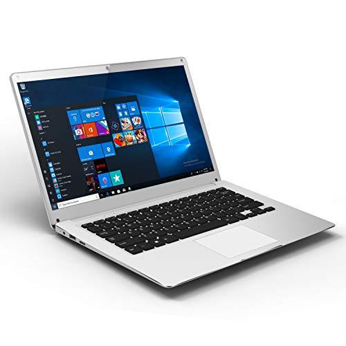 PC-Ordinateur Portable Windows-10 14-Pouces Laptop- Winnovo V146 Notebook Intel Atom Quad Core 4 Go RAM+32 Go eMMC 14.1 Pouces FHD IPS Écran Résolution de 1920x1080 Pixels Intel HD Graphics (Argent)