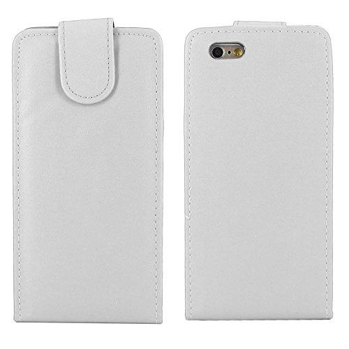 """ebestStar - pour Apple iPhone 6S 6 écran 4.7"""" - Housse Coque Etui Flip Simili Cuir à Rabat vertical + Mini Stylet tactile, Couleur Violet [Dimensions PRECISES de votre appareil : 138.1 x 67 x 6.9 mm,  Blanc"""