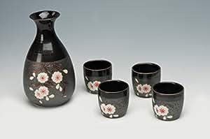 """L'insieme di causa """"di Kumamoto"""" 5 pezzi di gres con decorazioni ciliegia"""