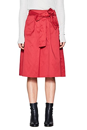 Erdbeere Damen Kostüm - ESPRIT Collection Damen 998EO1D800 Rock, Rot (Berry Red 625), 36