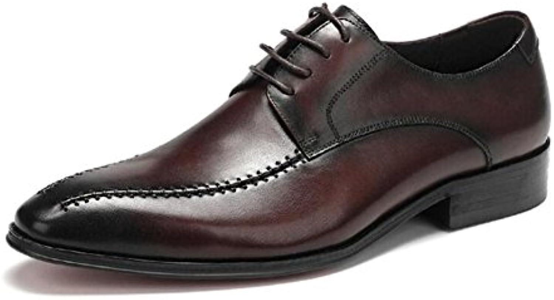 CAI Zapatos Formales de los Hombres de la Primavera/del otoño Zapatos para Hombre del Negocio/Zapatos de Vestir...