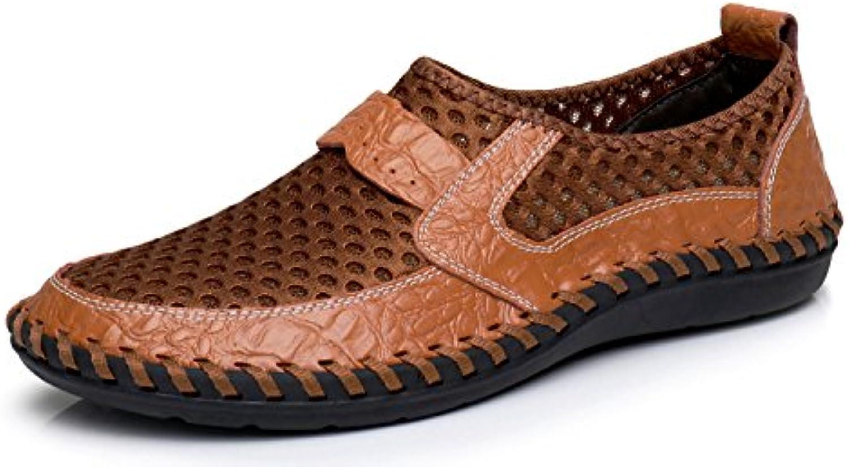 RONGKAI Mocasines Hombres  Zapatos de moda en línea Obtenga el mejor descuento de venta caliente-Descuento más grande