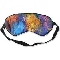 Eye Mask Eyeshade Paint Flowers Sleep Mask Blindfold Eyepatch Adjustable Head Strap preisvergleich bei billige-tabletten.eu