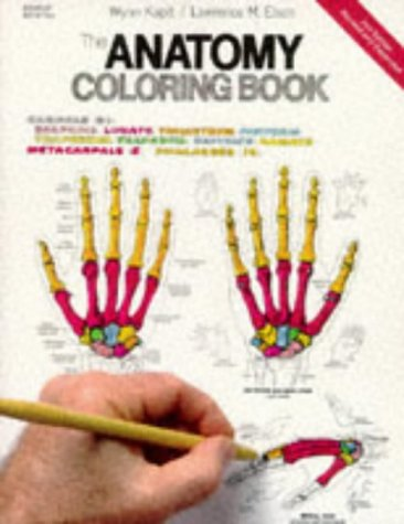 The Anatomy Coloring Book por W. Kapit