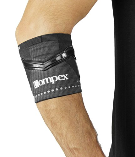 Compex Trizone Ellbogenbandage für Tennis/Golf Large schwarz preisvergleich