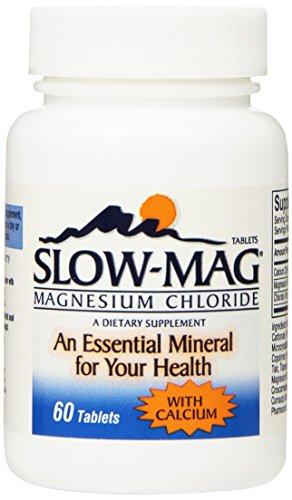 Slow-Mag - Chlorure De Magnésium Avec Comprimés De Calcium - 60 Ea