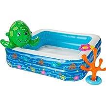 High quality Chad Valley–Set da piscina con spray tartaruga.
