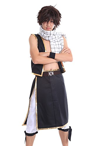 De-Cos Fairy Tail Salamander Dragon Slayer Dragneel Natsu Outfit V1 (Kostüm Dragon Slayer)