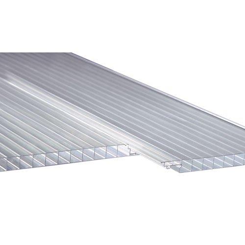 Polycarbonat Dachpaneele klar easy-click plus Paneele 2000 x 230 x 16 mm