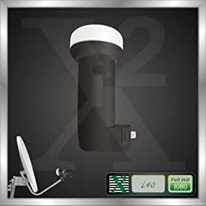 Inverto Ultra Low Noise and High-Gain Single Lnb - Black