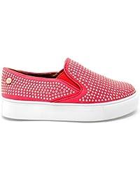 Zapato XTI combinado rojo