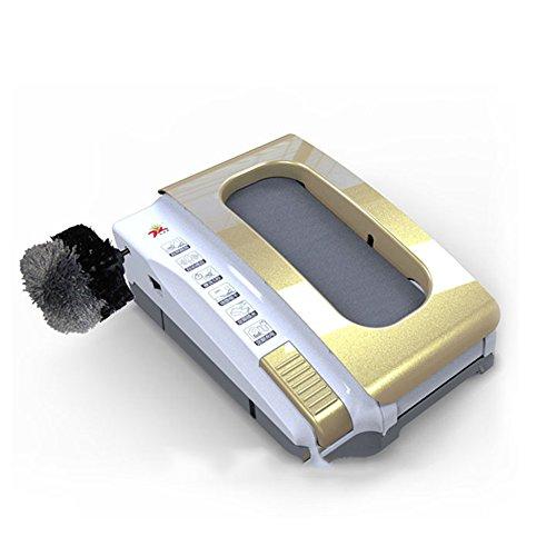 Gaoyuhong Schuhschutz LJHA Schuhputzer Sohlenreinigungsmaschine Schuhpolierer Dekontaminationsmaschine 2 Farben erhältlich 47.2 * 41.5cm Einweg-Schuhüberzieher (Farbe : Gelb)