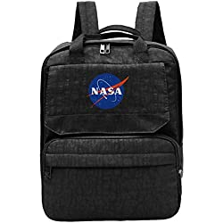 SAGDHFH Mochila de viaje NASA Astronaut Space Shuttle Rocket Science Geek Gym Senderismo Daypack College Laptop y Notebook Bag para mujeres y hombres