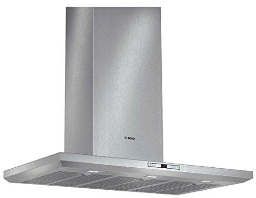 Bosch DWB091U50 – Campana (Montado en pared, Canalizado/Recirculación, A+, LED, Acero inoxidable, Acero inoxidable)