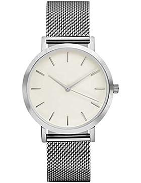 Armbanduhr, OVERMAL Frauen Damen Schöne Mode Kristall Edelstahl Analoge Quarz Armbanduhr Uhr Für Mädchen