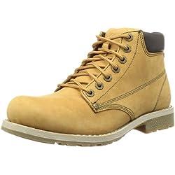 Skechers ShockwavesVarious 61746 WTN - Botas de cuero para hombre, color marrón,
