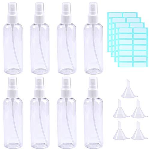 Aneco 8 Piezas 100 ML Botellas Juego Botellas Viaje