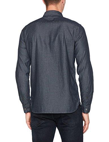Levi's Herren Freizeithemd Sunset 1 Pocket Schwarz (Flat Black 316)