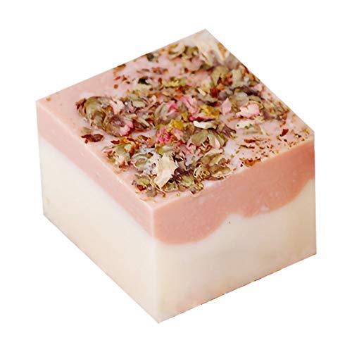 Allouli Peach Blossom Handmade Soap Body Wash Bar Gift 100% Natural Organic Essential Oil Whitening Skin Care -