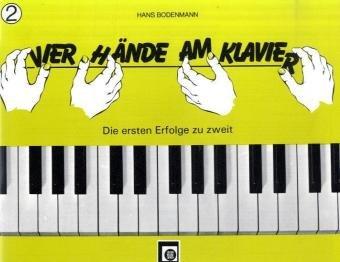 Vier Hände am Klavier Bd.2