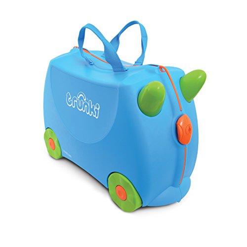 Trunki Ride-on Suitcase - Terrance (Blue)
