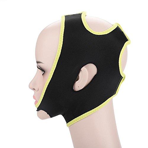 Gesicht, das Cheek-Maske, Gesichts-Wange V-Form abnimmt, heben dünnen Masken-Bügel-Gesichtslinie Anti-Falten-Schönheits-Werkzeug-Doppelkinn-Verband für Frau Mann an (# 1)