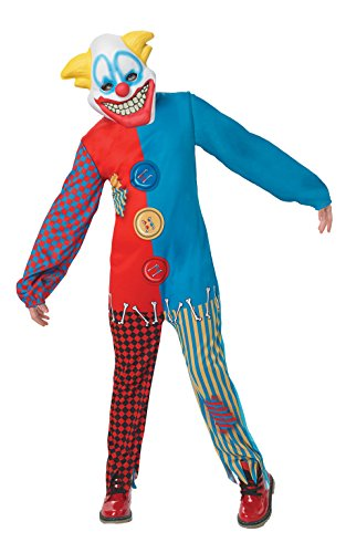 Imagen de rubie 's oficial 880350scary payaso disfraz niños tamaño mediano alternativa