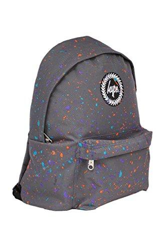 Hype Rucksack Tasche - Verscheidene Farben Grau meliert