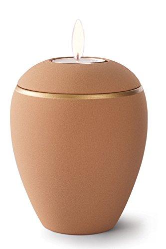 Keramik Kerzenhalter Verbrennung Asche Urne–Desert Sand