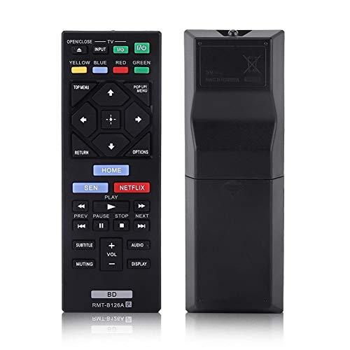 Zerone Universal Fernbedienung Ersatz für Sony Blue Ray Player rmt-b126a, Blu-Ray-Player-Fernbedienung für Sony