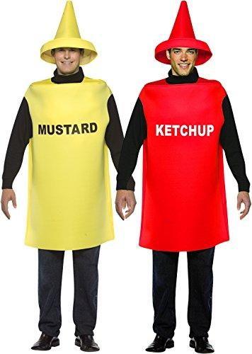 Ketchup & Mustard Bottle