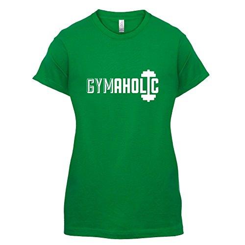 Gymaholic - Damen T-Shirt - 14 Farben Grün