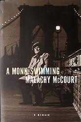 Monk Swimming