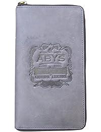 ABYS EID Special Gift-Genuine Leather Women Clutch  Hand Bag  Coin Purse  Card Holder  Passport Holder  Travel... - B07DL6KBKG