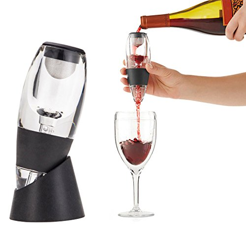 Decanters - Wine Inflator Decanter Set Family Party El Quick Inflatable Pourer Magic Business Gift - Aireators Curtains Identifiers Fruit Stand Master Servers Magazine Away Light Saver Labe