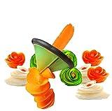 Frmarche Tagliaverdure a Spirale affettatrice vegetale per Tagliare Frutta, pelapatate a Forma di Fiore