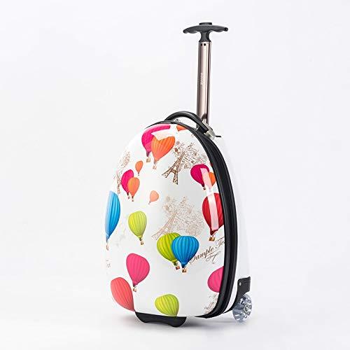QWW Valigetta da viaggio per valigia da viaggio per bambini Tracolla da viaggio per valigia da viaggio Valigia da 16 pollici con impugnatura per il trasporto di pesi (Color : STYLEA)